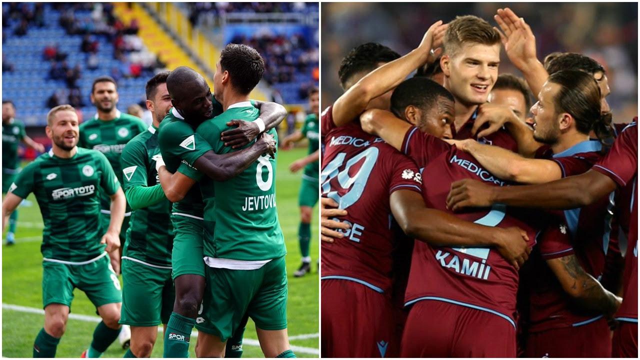 Konyaspor - Trabzonspor / LİNK