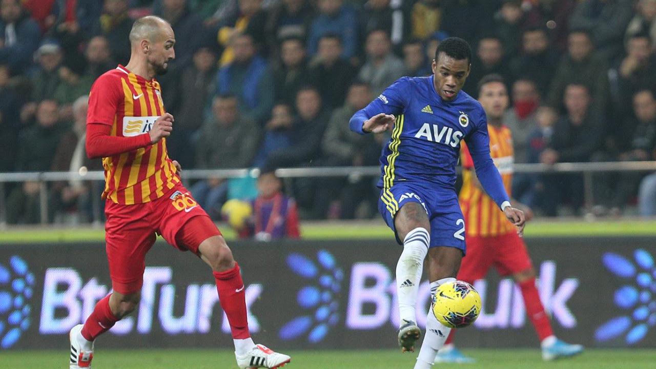 Kayserispor - Fenerbahçe / CANLI